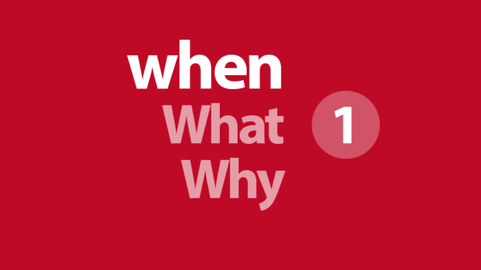 Preguntas En Inglés Con When Why Where